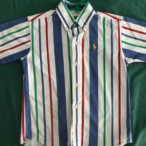 Boys Ralph Lauren Polo button up shirt